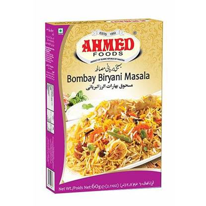 Picture of AHMED BOMBAY BIRYANI MASALA 60 GMS