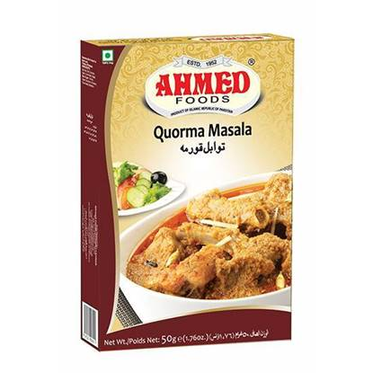 Picture of AHMED QORMA MASALA 50 GMS