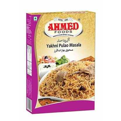 Picture of AHMED YAKHNI PULLAO MASALA 75 GMS