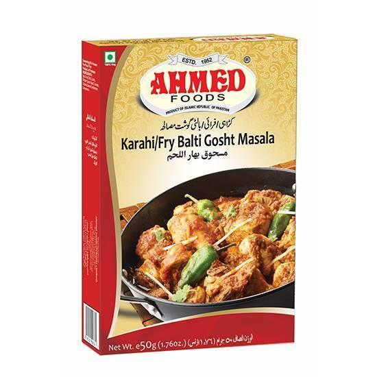 Picture of AHMED KARAHI/FRY BALTI GOSHT MASALA 50 GMS