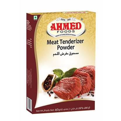 Picture of AHMED MEAT TENDERIZER POWDER 40 GMS