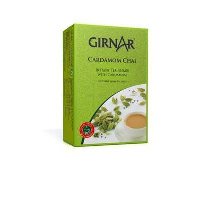 Picture of GIRNAR CARDAMOM (TEA)CHAI 3in1 10 SACHETS - 140 GMS