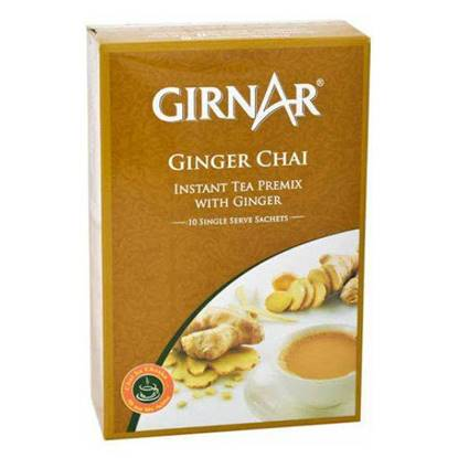 Picture of GIRNAR GINGER CHAI (TEA)3in1 10 SACHETS - 140 GMS