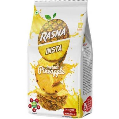 Picture of RASNA PINEAPPLE FRUIT DDRIINK POWDER 400 GMS