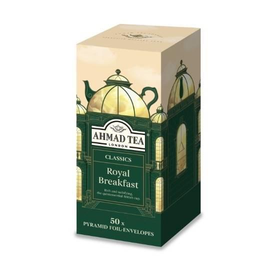Picture of Ahmad Tea - Pyramid Royal Breakfast 50x2g
