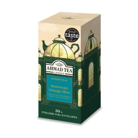 Picture of Ahmad Tea - Pyramid Moroccan Orange Slice 50x2g