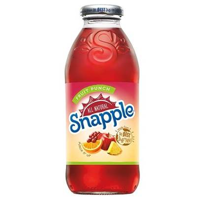Picture of SNAPPLE FRUIT PUNCH 473 ML -4 (3+1)