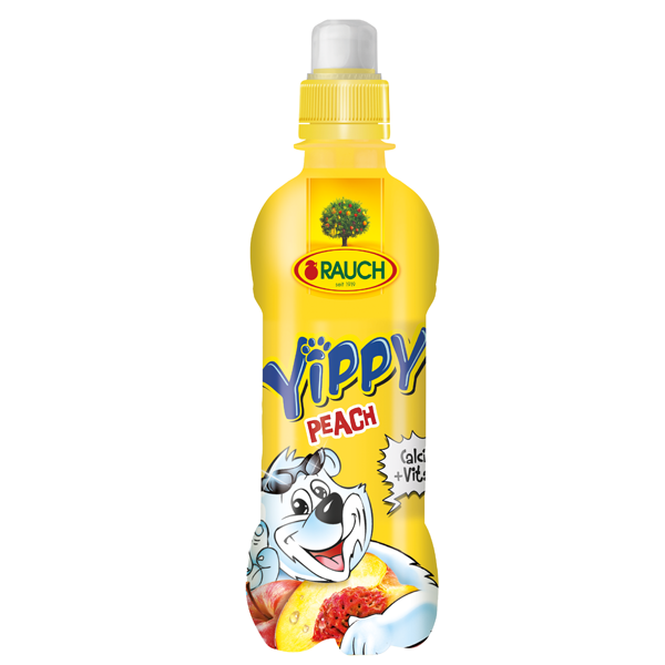 Picture of RAUCH Yippy Peach 330ML -6(5+1 FREE)