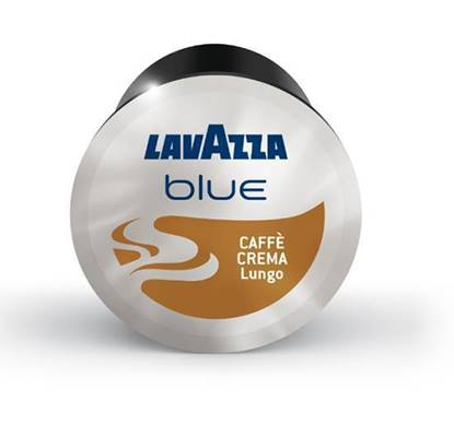 Picture of LAVAZZA BLUE CREMA DOLCE COFFEE CAPSULE  4*100 +MACHINE FREE