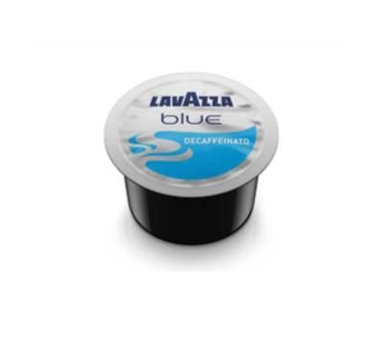 Picture of LAVAZZA BLUE DECAF COFFEE CAPSULE 4*100 + MACHINE FREE
