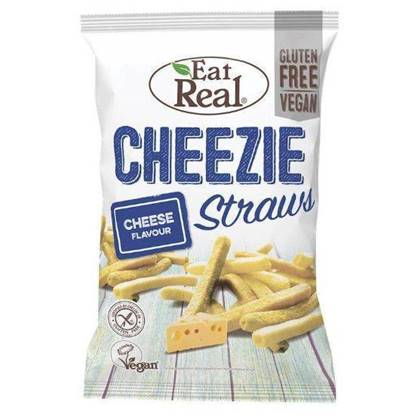 Picture of EATREAL CHEEZIE STRAW 113 GM