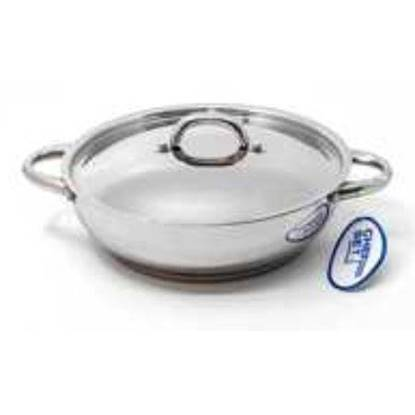 Picture of CHEFSET ST. STEEL CLASSIC KADAI 24 CM