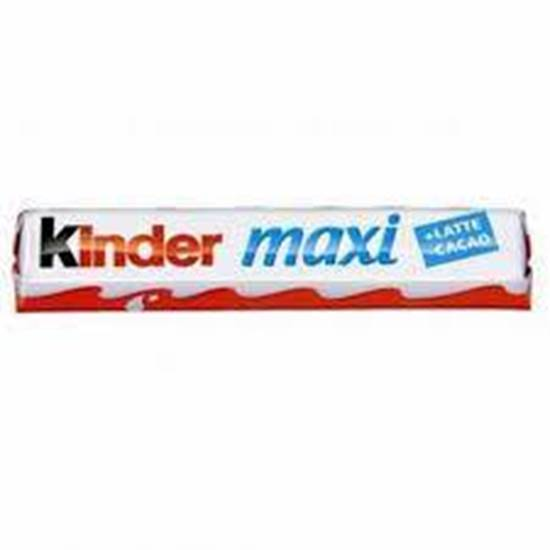 Picture of Kinder Maxi Chocolate Bar 8*36 Pieces