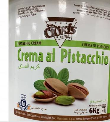 Picture of Ciokis PISTACHIO CREAM 6 KG