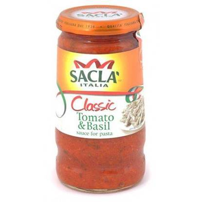 Picture of Sacla Classic Tomato & Basil 350 g