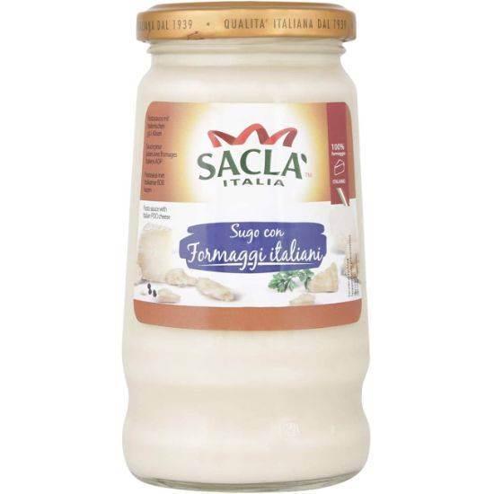 صورة صلصلة كريمة بجبنة دى آو بى الايطالية 290غ
