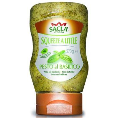 Picture of Sacla Squeeze A Little Classic Pesto 270 g