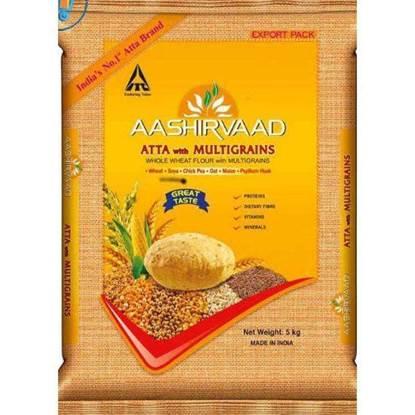 الصورة: أشرواد دقيق القمح الكامل المتعتد الحبوب 5 كيلو