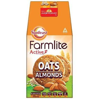 Picture of Sunfeast Farmlite Digestive Oats with Almonds 150gm