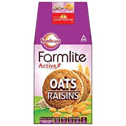 Picture of Sunfeast Farmlite Digestive Oats with Raisins 150gm