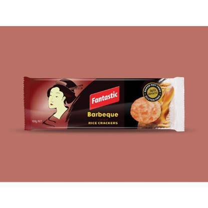 Picture of Fantastic Barbeque Rice Crackers 100 g