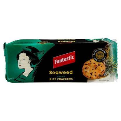 Picture of Fantastic Seaweed Rice Crackers 100 g
