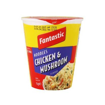 Picture of Fantastic Chicken & Mushroom Cup Noodles 70 g