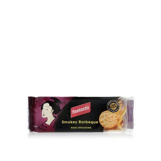 Picture of Fantastic Smokey BBQ Rice Crackers 100 g