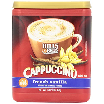 Picture of HILLS BROS Ctns French Vanilla Cappuccino 453g