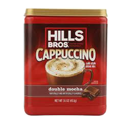 Picture of HILLS BROS Ctns Double Mocha Cappuccino 453g