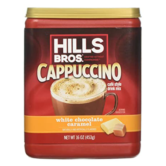 Picture of HILLS BROS Ctns White Chocolata Cappuccino 453g