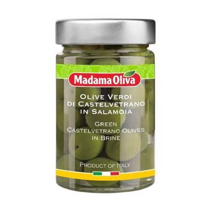 Picture of MADAMA GREEN CASTELVETRANO OLIVES 12 X 190GM