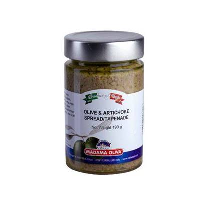 Picture of MADAMA OLIVE & ARTICHOKE TAPENADE 11 X 190GM