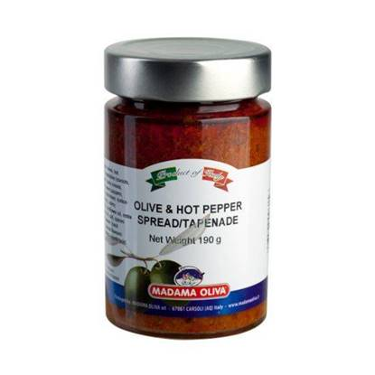 Picture of MADAMA OLIVE & HOT PEPPER TAPENADE 11 X190GM