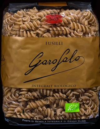 Picture of GAROFALO FUSILLI INTEGRALI [ORGANIC  WHOLE WHEAT PASTA ] 16X500GM