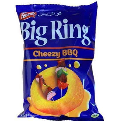 Picture of Fonzies Big Ring Cheezy BBQ snack
