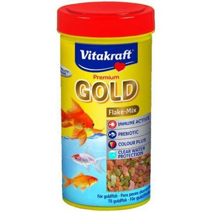 Picture of Vitakraft  Gold Flake food for Goldfish