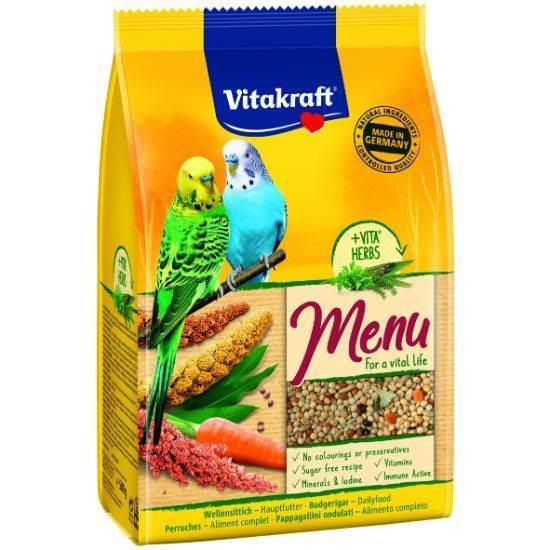 صورة طعام لطيور الحب  فيتا كرافت