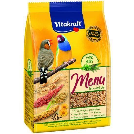صورة طعام الطيور الغريبة  فيتا كرافت