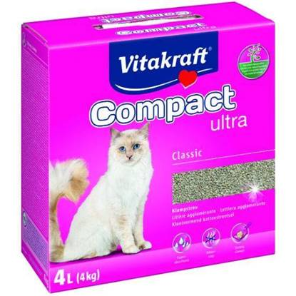 Picture of Vitakraft  Cat Litter Compact Ultra