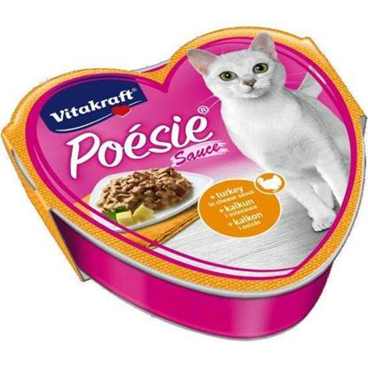 Picture of Vitakraft  Poésie - Turkey in cheese sauce
