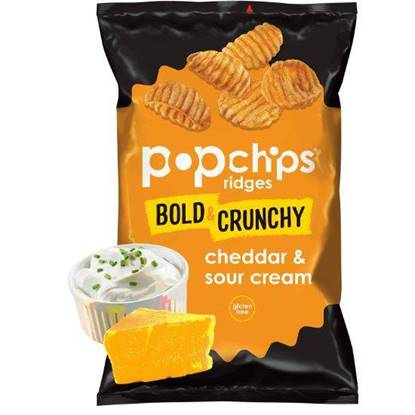 Picture of Popchips Ridges Cheddar 142GM*12