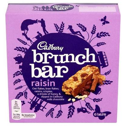 الصورة: CADBURY BRUNCH RISIN 192 gm