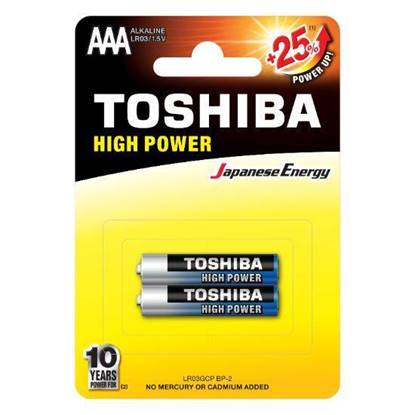 Picture of Toshiba Alkaline AAA