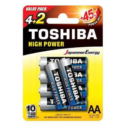 Picture of Toshiba Alkaline AA