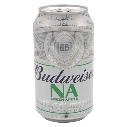 Picture of Budweiser Green Apple - Cans 355 ml ( 6 Pcs )*4