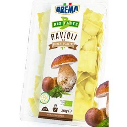 Picture of BREMA - RAVIOLI WITH PORCINI MUSHROOMS BIO  ORGANIC* 250 GRS