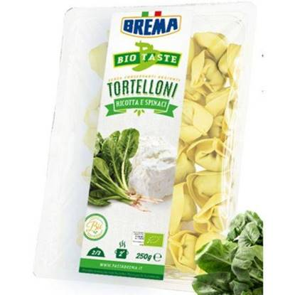 Picture of BREMA - TORTELLONI WITH RICOTTA AND SPINACH BIO ORGANIC* 250 GRS