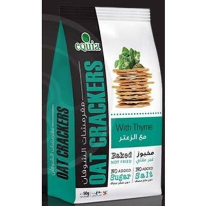 Picture of EQUIA - OAT CRAKERS WITH THYME 50 G *12 BAGS