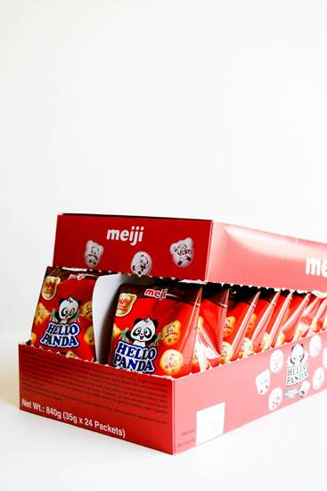 Picture of Meiji Hello Panda Biscuit Choco 35g*24